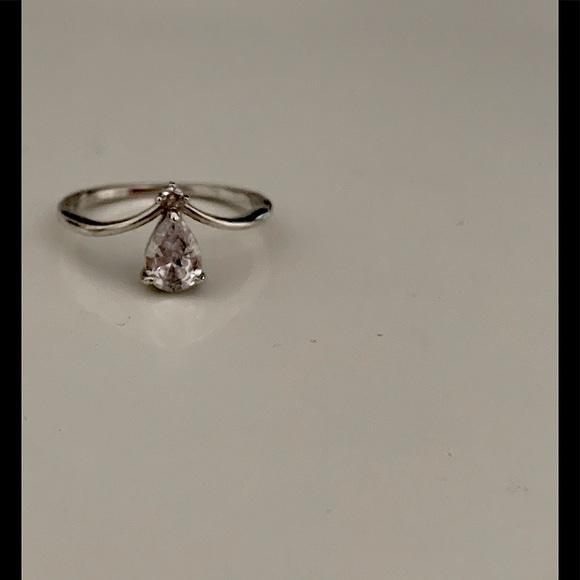 Adorable tear drop ring